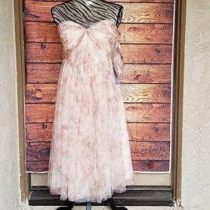 NWT Jenny Yoo tulle sweetheart neckline dress sz 6
